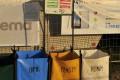 Greenpoint na tříděný odpad včetně infotabule