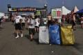 Greenpoint na tříděný odpad v areálu festivalu