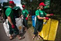Výměna greenpointů na tříděný odpad